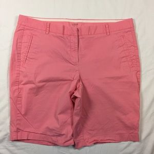Size 14 J Crew Stretch Shorts